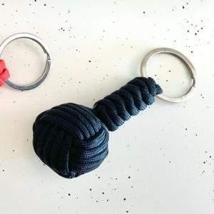 Paracord Keyring Black