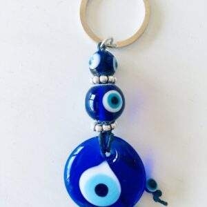 blue glass evil eye