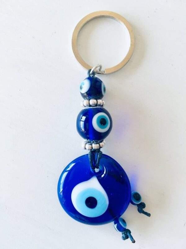 blue glass evil eye