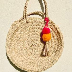 Round Sisal Straw Bag