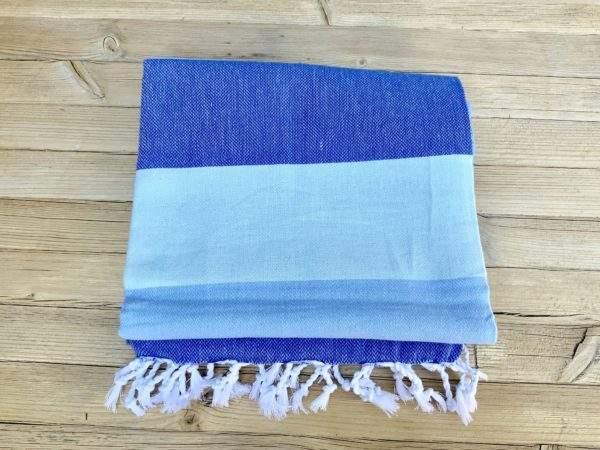 Blue Stripe Peshtemal Towel