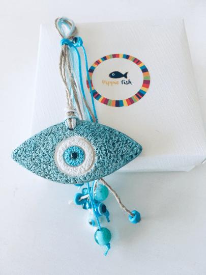 Ceramic Eye Charm