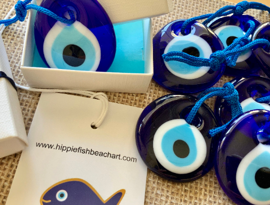 Blue Glass Evil Eye Small Gift