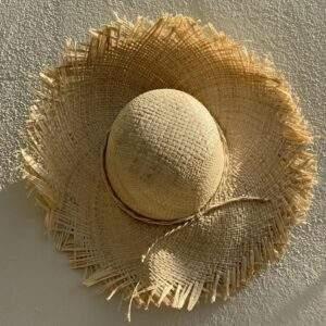Sun Hat with fringe