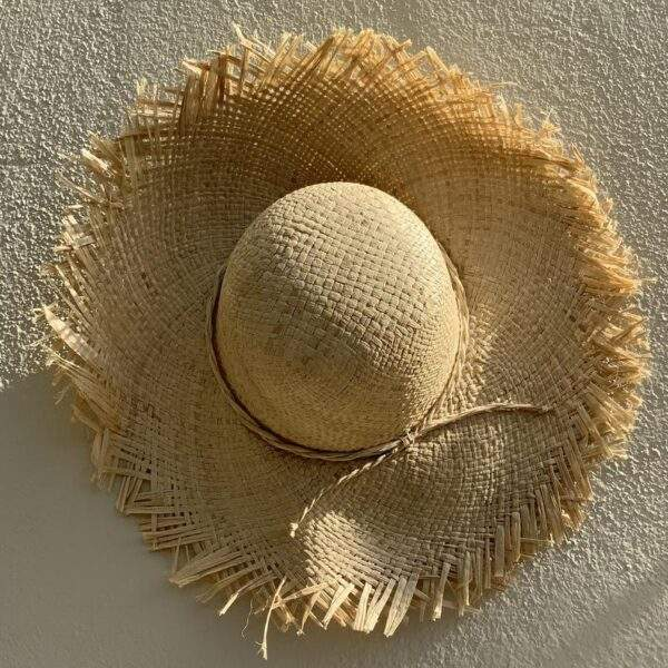 Sun Hat with fringe