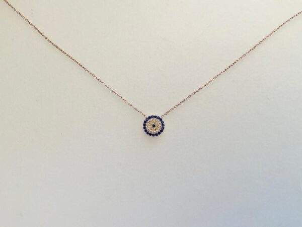 Small Eye Pendant Necklace