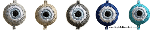 Crochet Eye Wall Hanging