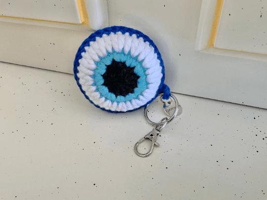 Lucky Eye Keyring