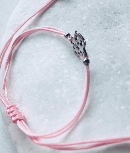 Owl Charm Macrame Bracelet