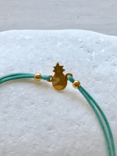 Gold Pineapple Charm Bracelet