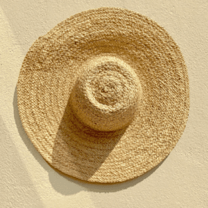 Large Floppy Hat Beige