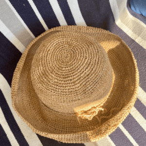 Crocheted Classic French Hat