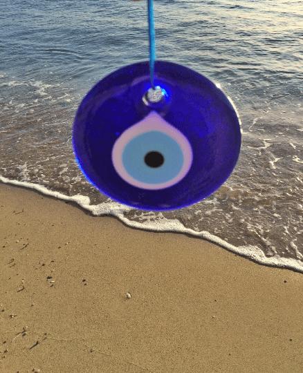 "4 1/4"" Evil Eye Charm"