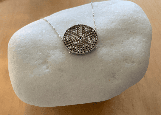 Silver Eye Pendant Necklace