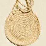 Round Straw Bag