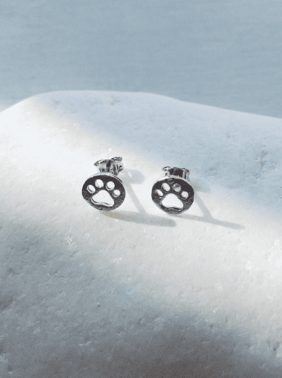 Paw Silver Bracelet Gift Set