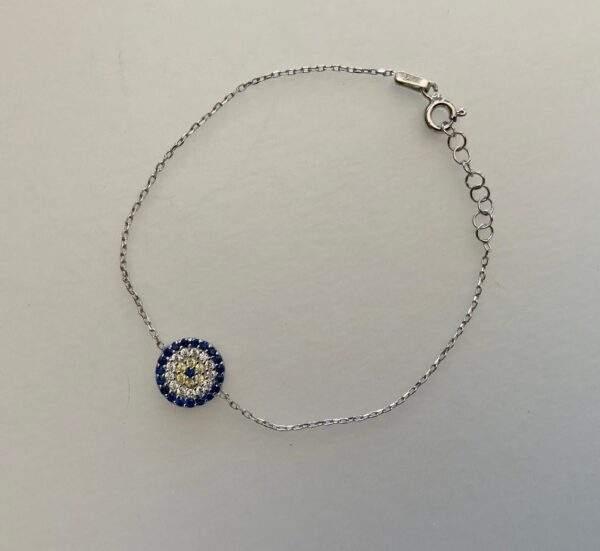 Small Eye Charm Bracelets