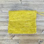 Raffia Wallet Yellow
