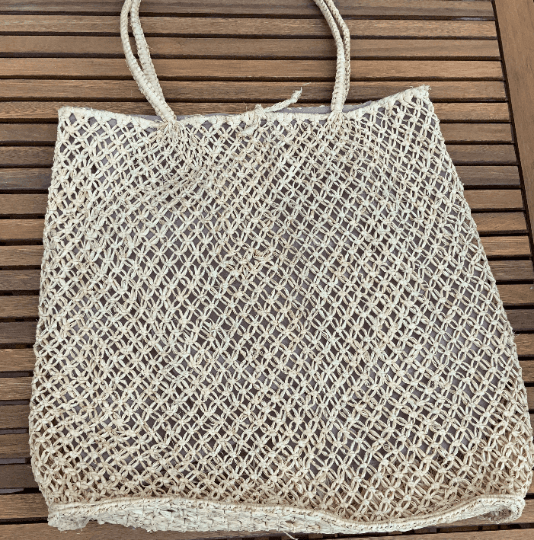 Straw Market Bag