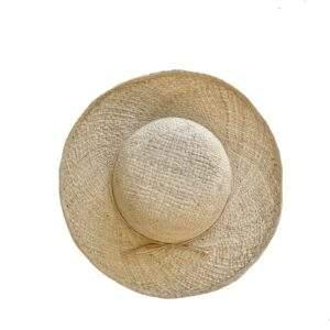 French Raffia Straw Sun Hat Small Brim