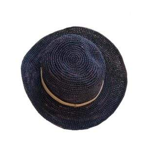 Crocheted Round French Hat