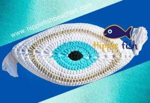 Crochet Eye Cushion Greek Gods Design