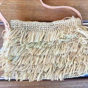 Small Straw Shoulder Bag