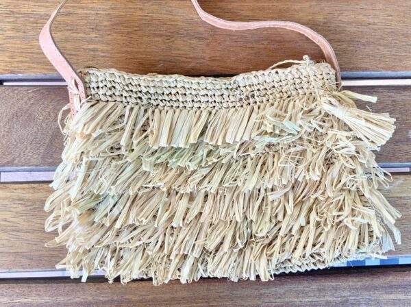 Small Raffia Shoulder Bag