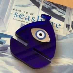 Boat Evil Eye Ornament