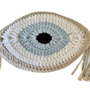 Greek Evil Eye Pillow